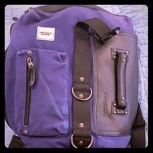 Anvanda navy blue backpack